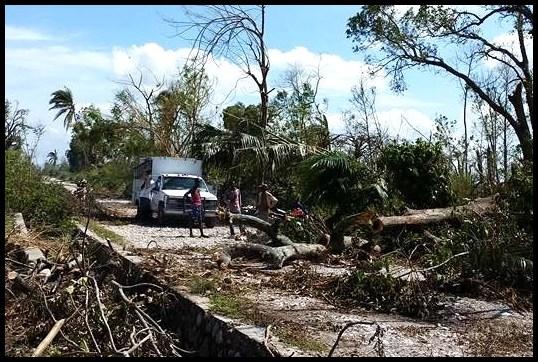 Clearing the Road - Savannette, Haiti